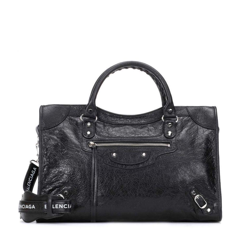 バレンシアガ Balenciaga レディース バッグ トートバッグ【Classic City Medium leather tote】Noir/Light Blanc