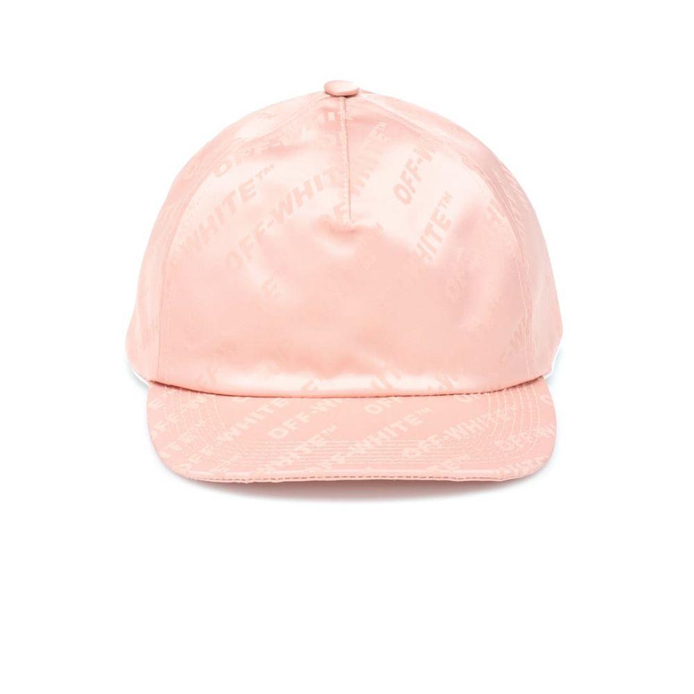 オフ-ホワイト Off-White レディース 帽子 キャップ【Jacquard cap】Nude No Co