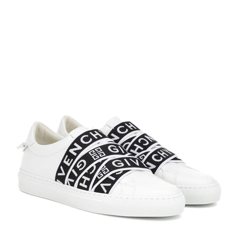 ジバンシー Givenchy レディース シューズ・靴 スニーカー【4G leather sneakers】Black/White
