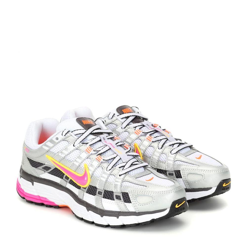ナイキ Nike レディース シューズ・靴 スニーカー【P-6000 mesh sneakers】White/ Lsrfcs
