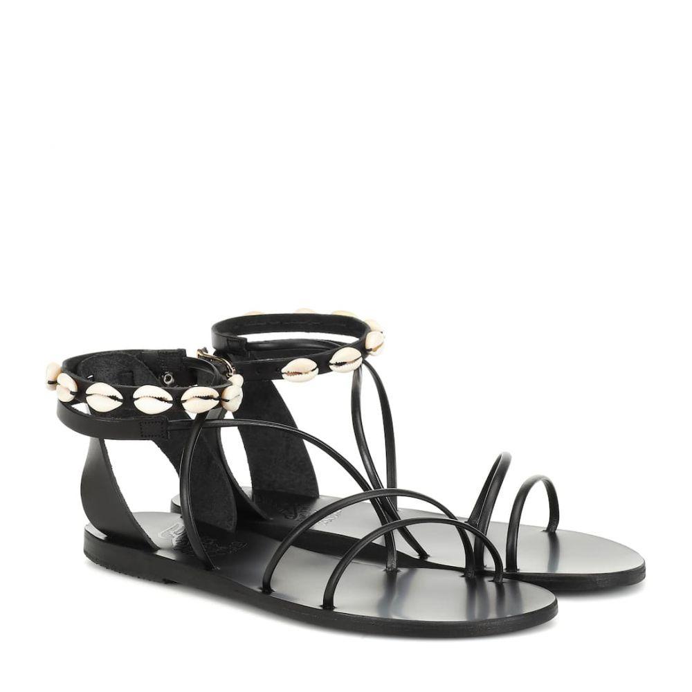 エンシェント グリーク サンダルズ Ancient Greek Sandals レディース シューズ・靴 サンダル・ミュール【Meloivia leather sandals】Black