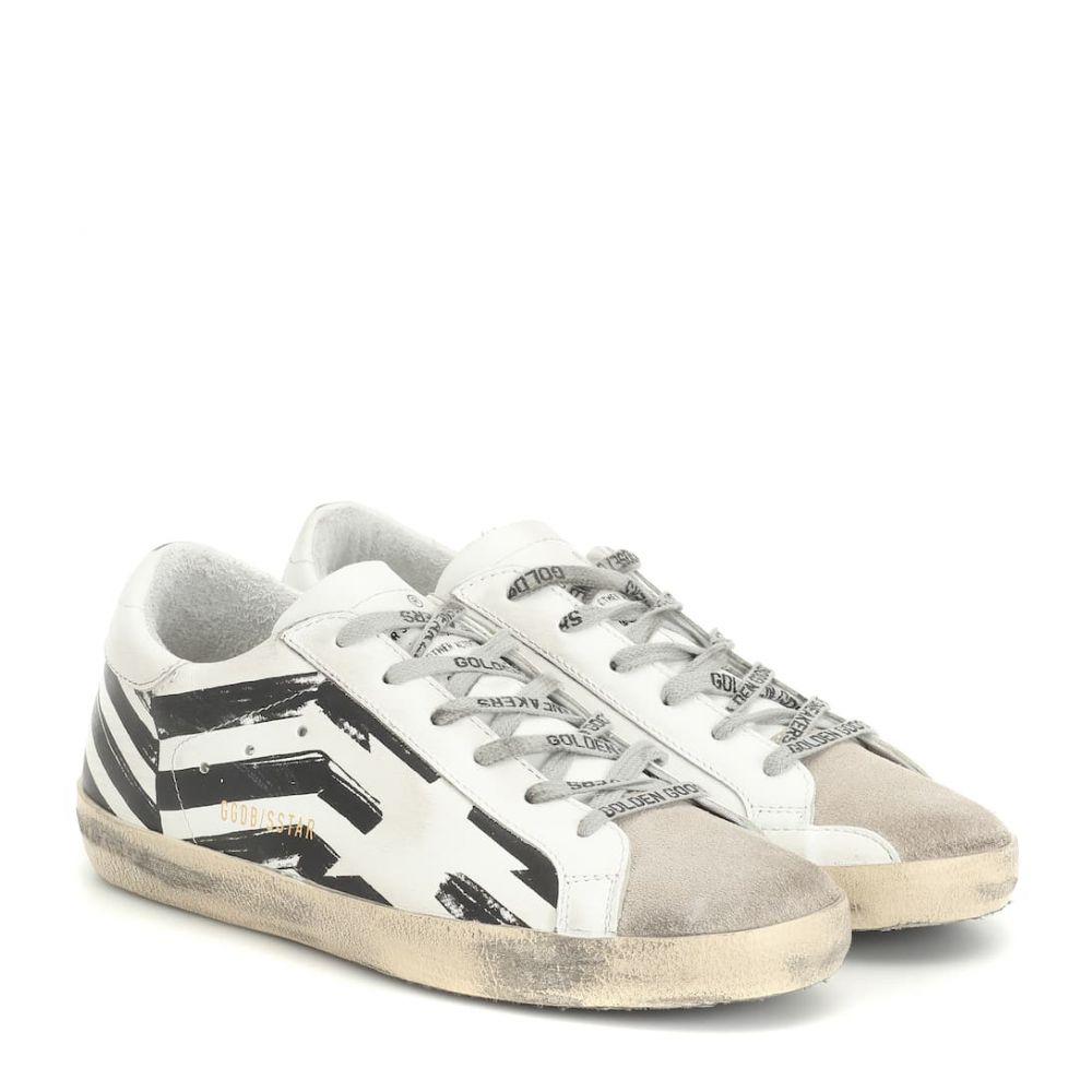 ゴールデン グース Golden Goose レディース シューズ・靴 スニーカー【Superstar leather sneakers】White Flag