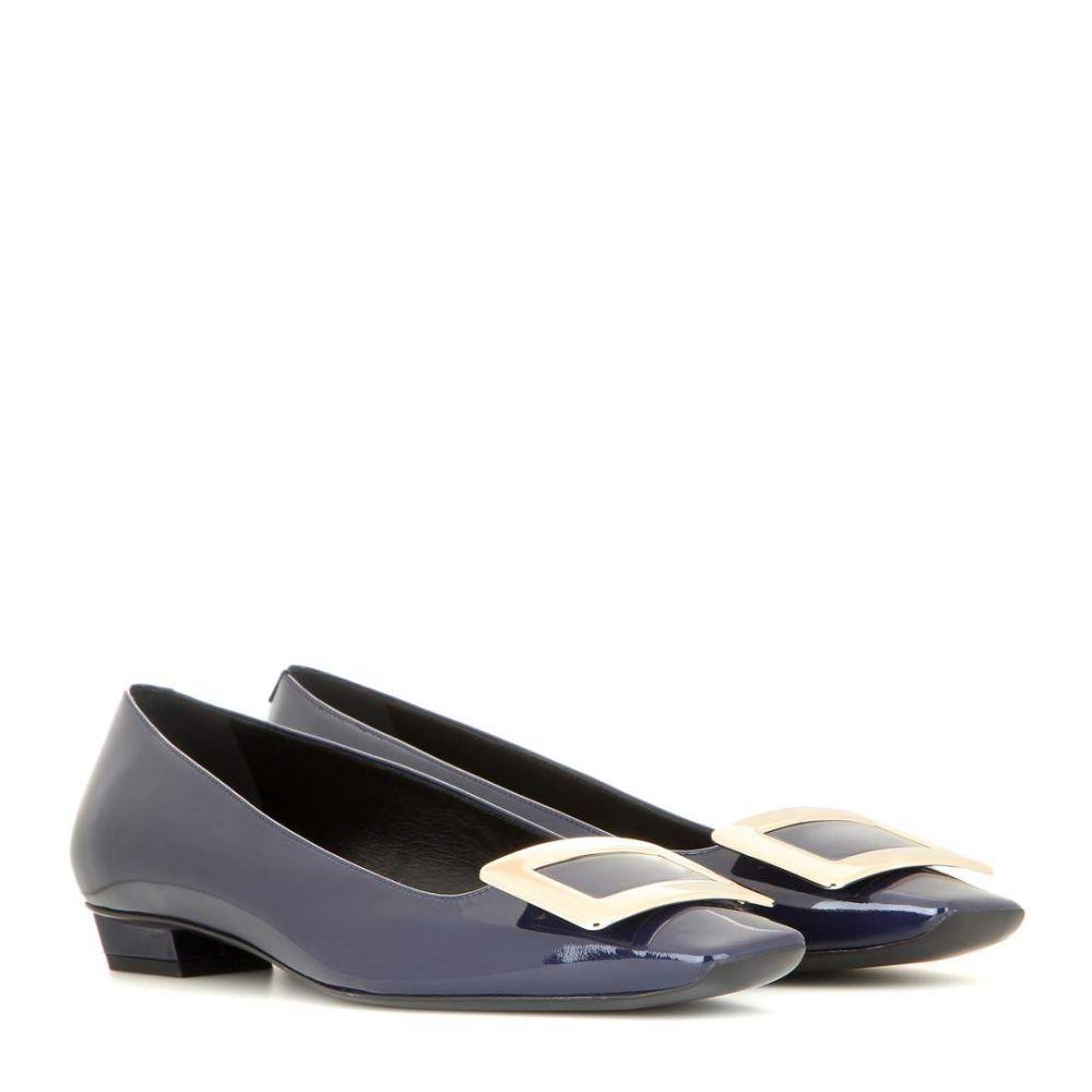 ロジェ ヴィヴィエ Roger Vivier レディース シューズ・靴 スリッポン・フラット【Belle Vivier patent leather ballet flats】
