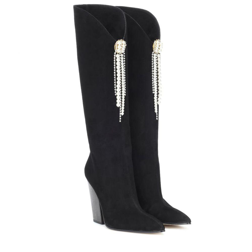マグダ ブトリム Magda Butrym レディース シューズ・靴 ブーツ【Holland suede boots】Black