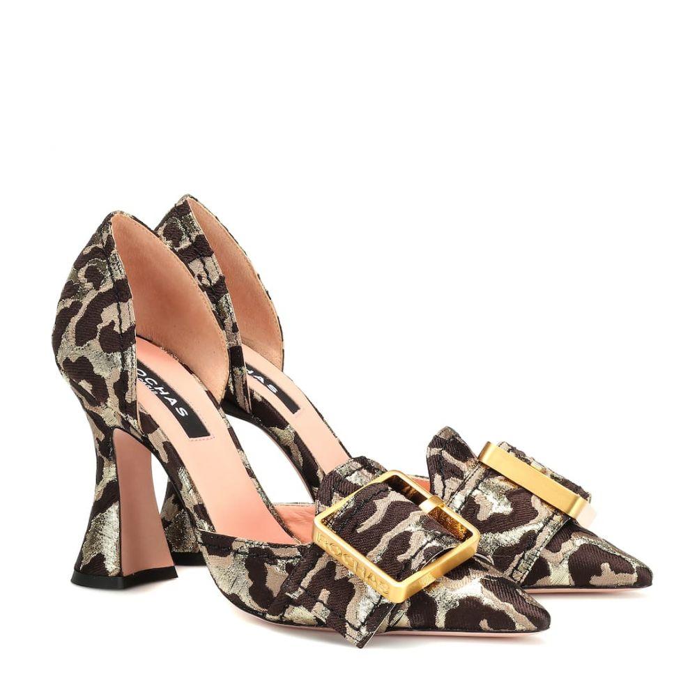 ロシャス Rochas レディース シューズ・靴 パンプス【Leopard brocade pumps】Broccato Leo