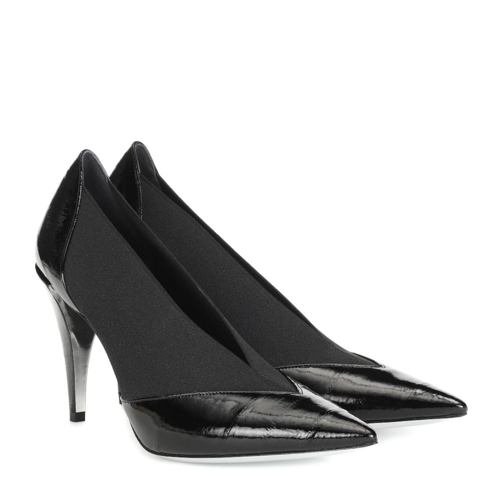 ジバンシー Givenchy レディース シューズ・靴 パンプス【Show eel leather pumps】Black