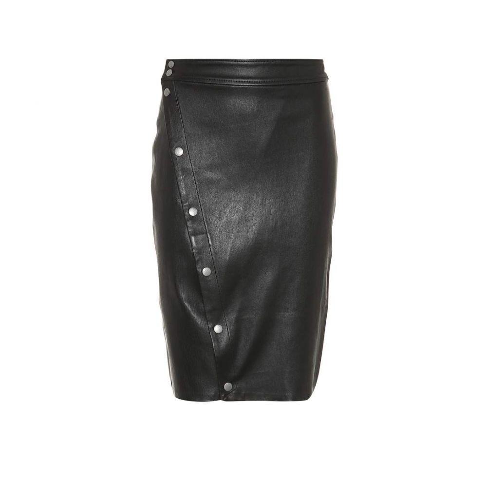 ラグ&ボーン Rag & Bone レディース スカート【Baha leather skirt】Black