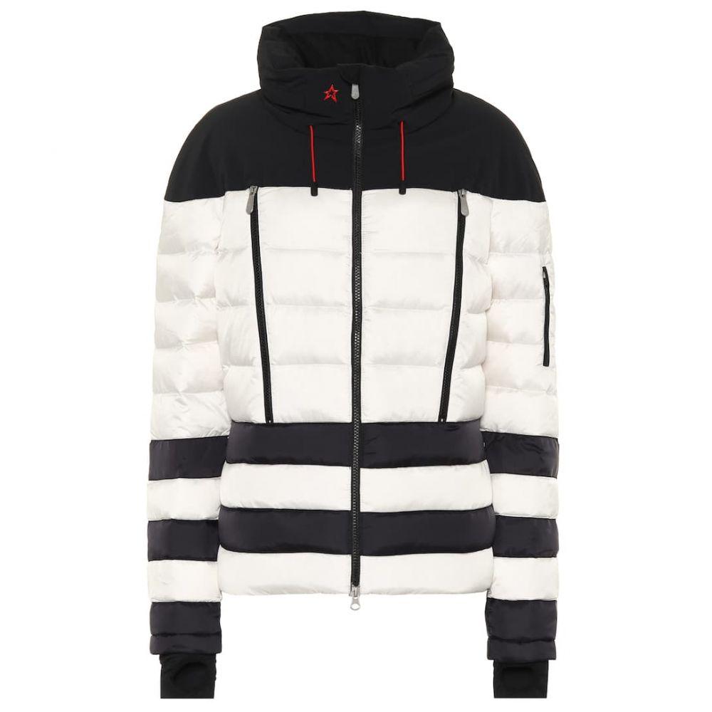 パーフェクト モーメント Perfect Moment レディース スキー・スノーボード アウター【Polar down ski jacket】black white stripe