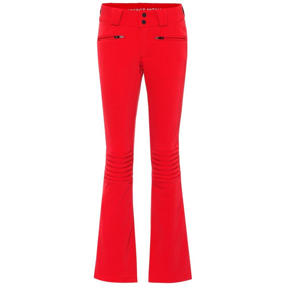 パーフェクト モーメント Perfect Moment レディース スキー・スノーボード ボトムス・パンツ【Aurora flared ski pants】red
