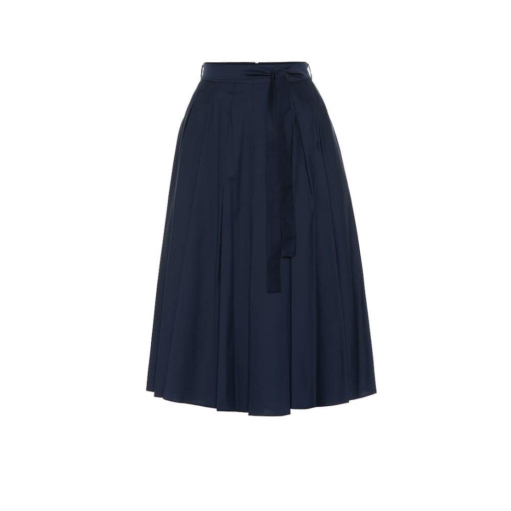 マックスマーラ S Max Mara レディース スカート ひざ丈スカート【Nazario cotton-blend skirt】