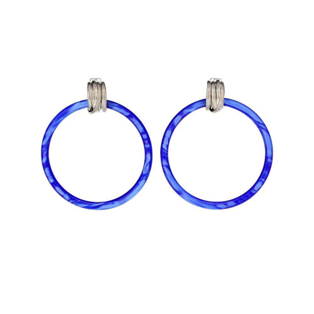 バレンシアガ Balenciaga レディース ジュエリー・アクセサリー イヤリング・ピアス【Hoop earrings】