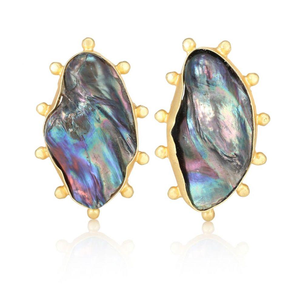 ピート ダラート Peet Dullaert レディース ジュエリー・アクセサリー イヤリング・ピアス【Sola 14kt gold-plated earrings with Baroque pearls】