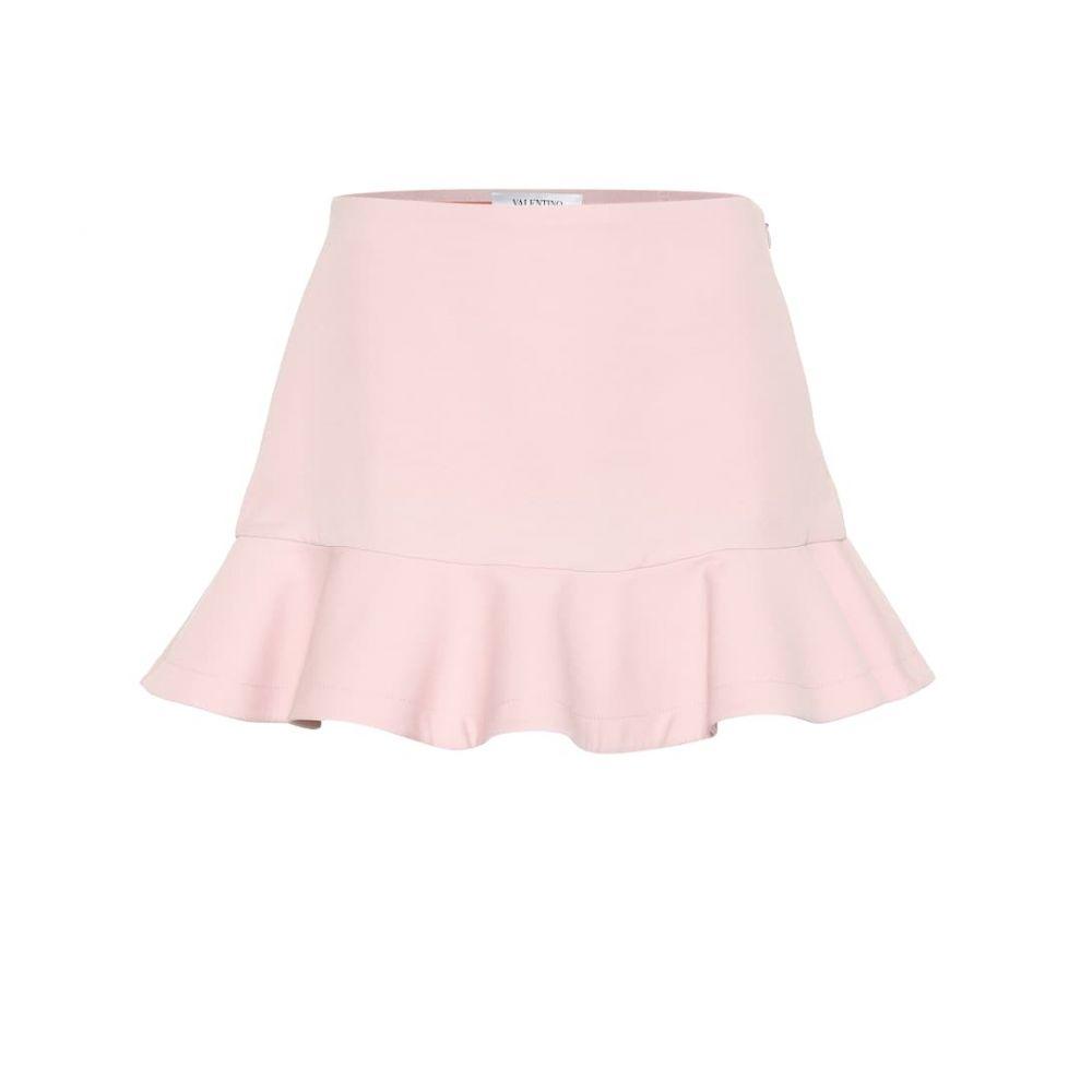 ヴァレンティノ Valentino レディース スカート ミニスカート【Wool and silk miniskirt】