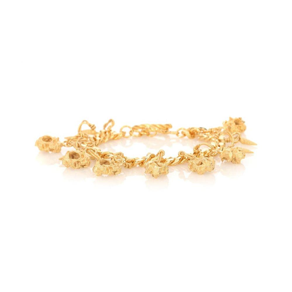 エルハナティ Elhanati レディース ジュエリー・アクセサリー ブレスレット【Ora 24-kt gold-plated silver bracelet】