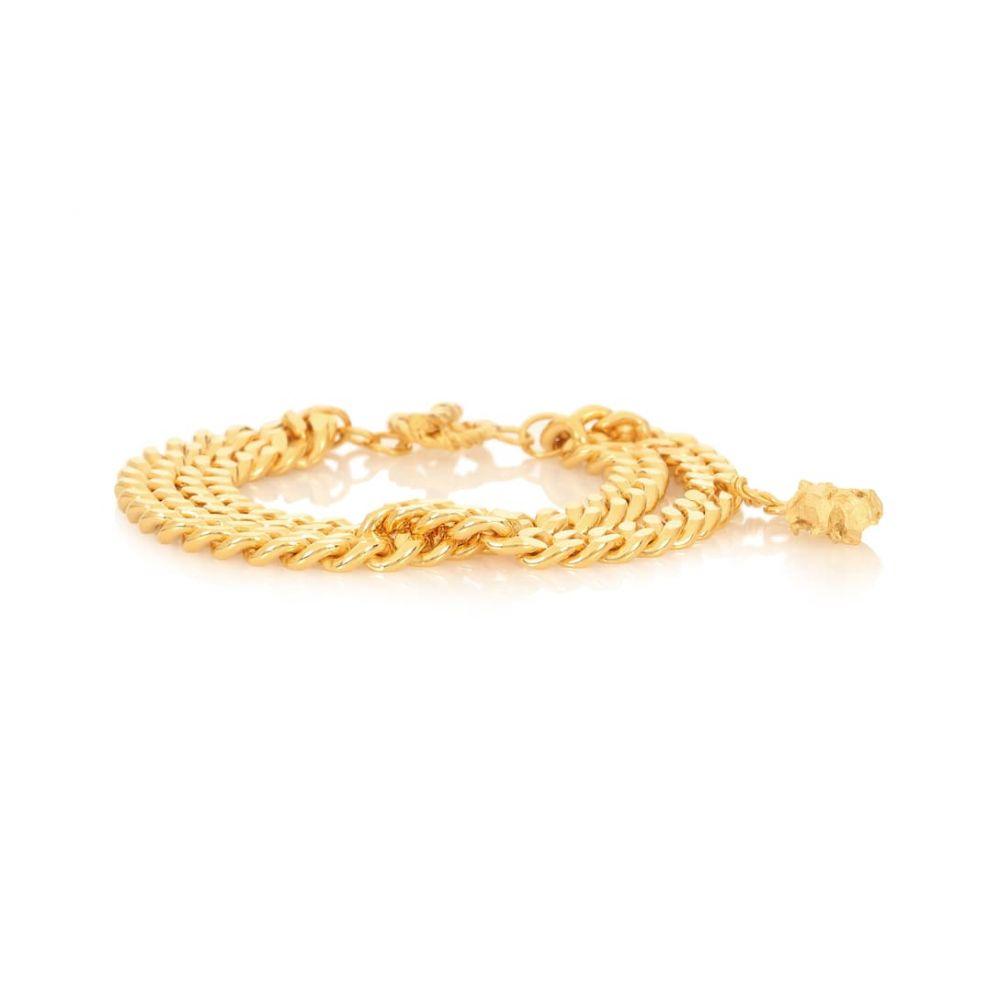 エルハナティ Elhanati レディース ジュエリー・アクセサリー ブレスレット【Ruby 24-kt gold-plated bracelet】