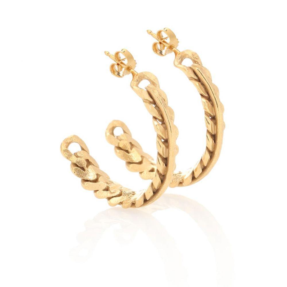 エルハナティ Elhanati レディース ジュエリー・アクセサリー イヤリング・ピアス【Chain 24-kt gold-plated earrings】