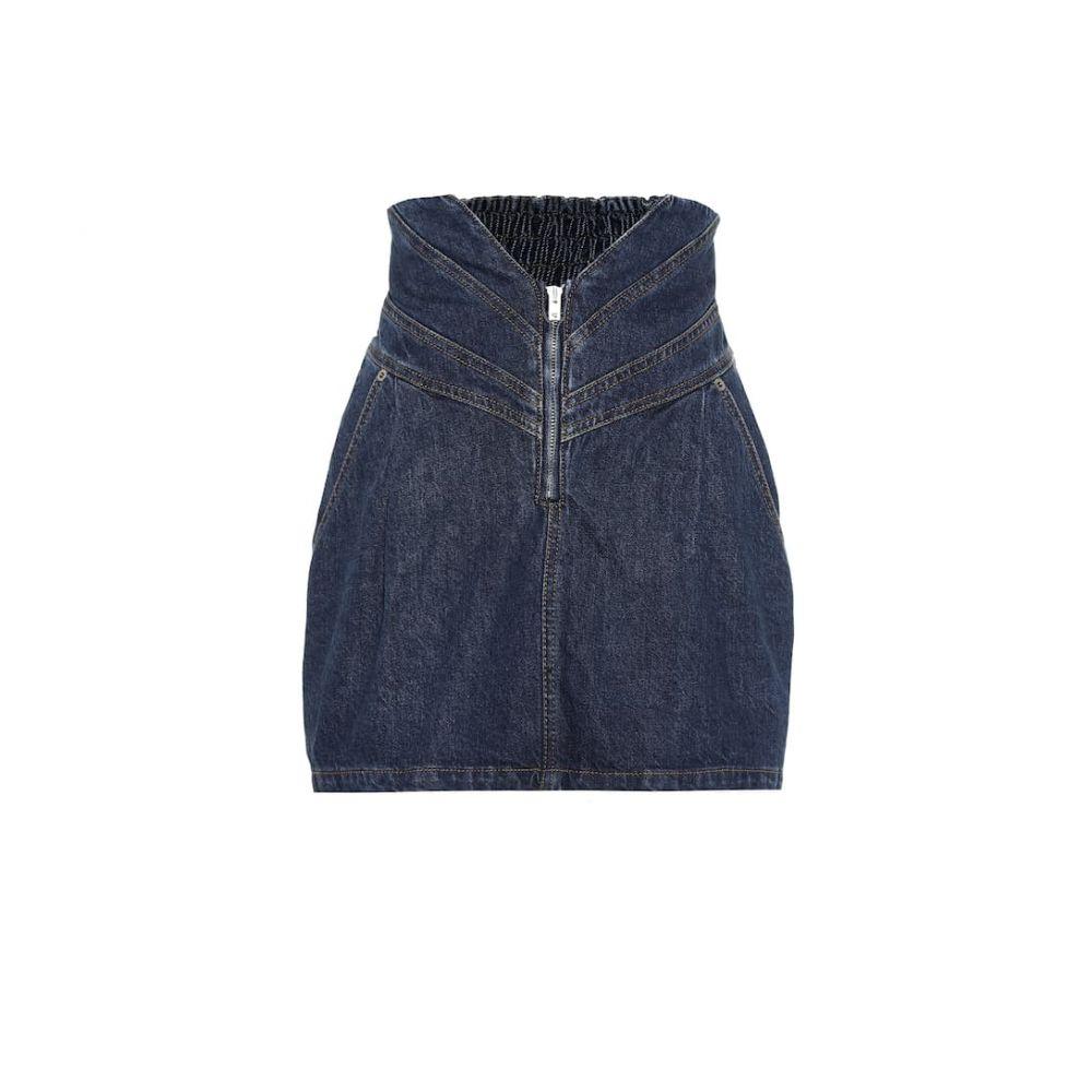 アティコ The Attico レディース スカート ミニスカート【High-rise denim miniskirt】Denim