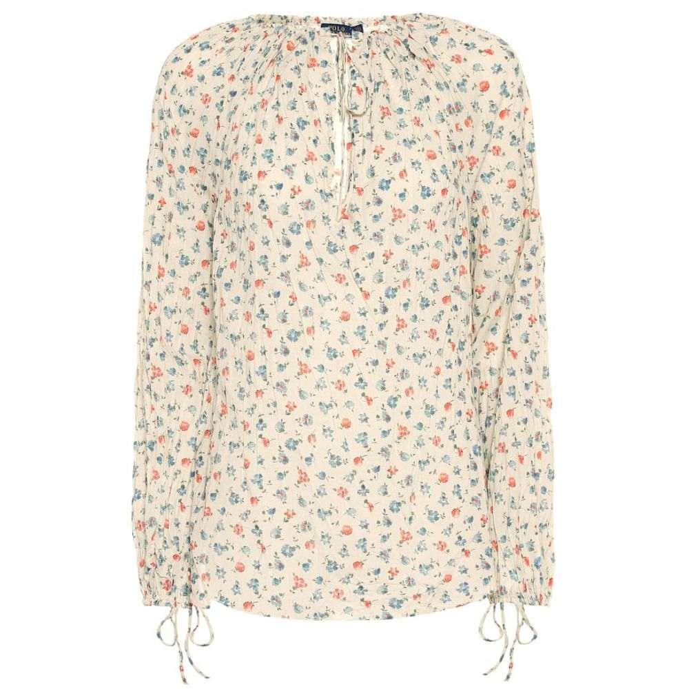 ラルフ ローレン Polo Ralph Lauren レディース トップス ブラウス・シャツ【Floral cotton blouse】ditsy daisy floral print