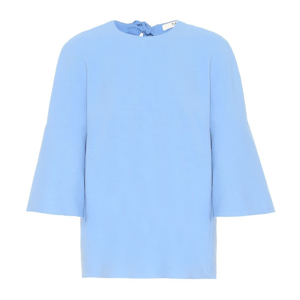 ティビ Tibi レディース トップス【Jersey top】dusty blue