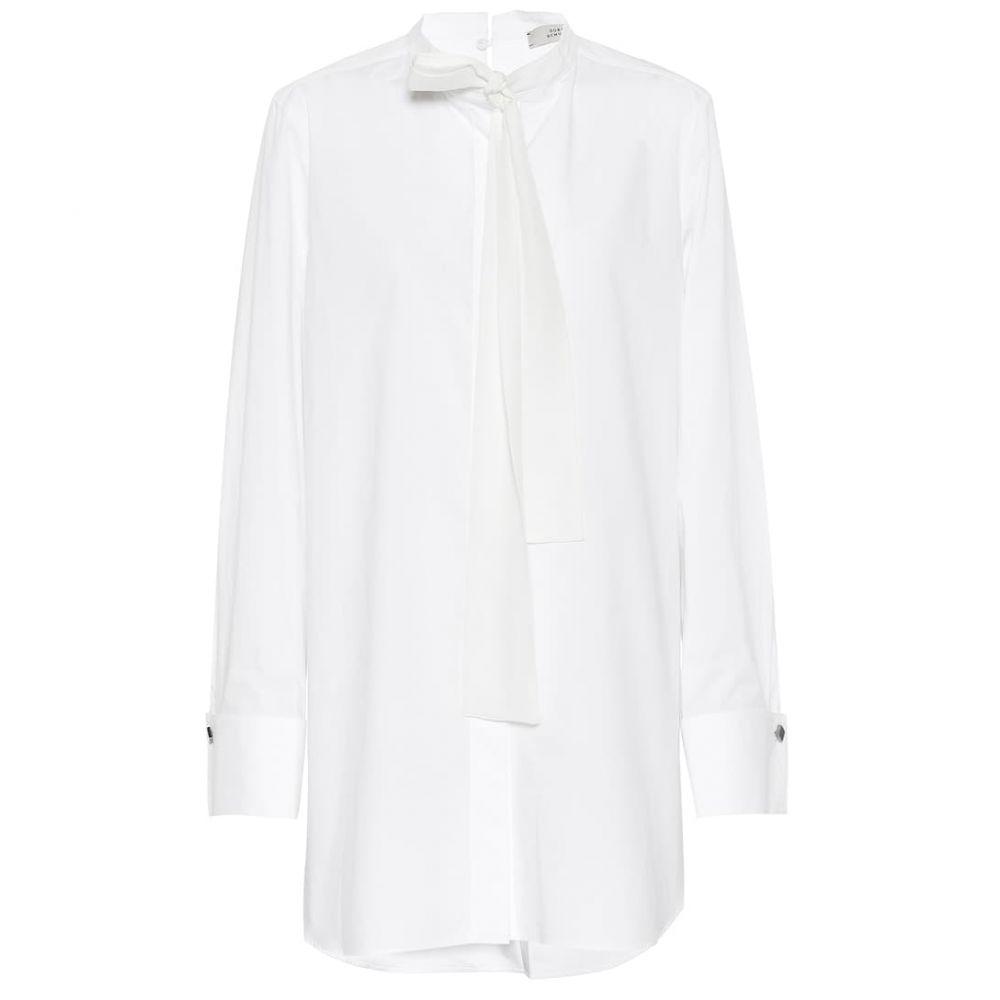 ドロシー シューマッハ Dorothee Schumacher レディース トップス ブラウス・シャツ【Elegance cotton blouse】Pure White