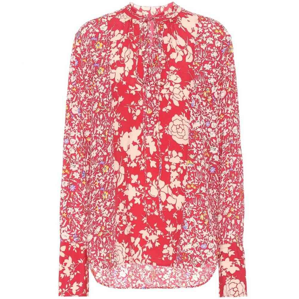 ラルフ ローレン Polo Ralph Lauren レディース トップス ブラウス・シャツ【Floral crepe shirt】Red Combo Floral