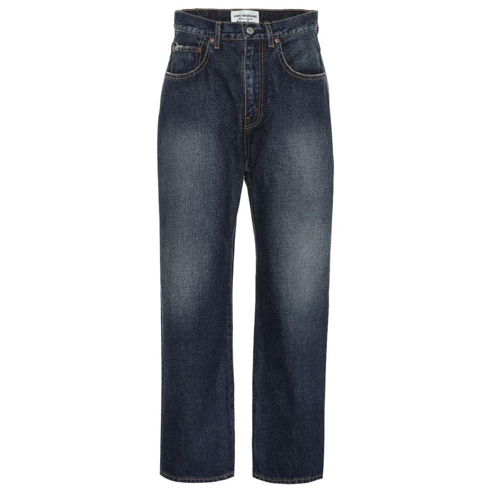 ジュンヤ ワタナベ Junya Watanabe レディース ボトムス・パンツ ジーンズ・デニム【Wide-leg jeans】Indigo