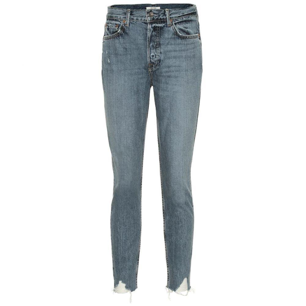 ガールフレンズ Grlfrnd レディース ボトムス・パンツ ジーンズ・デニム【Karolina high-rise skinny jeans】Forget Me Never