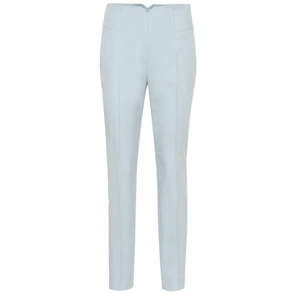 ドロシー シューマッハ Dorothee Schumacher レディース ボトムス・パンツ【Bold Silhouette cotton pants】Vacation Blue