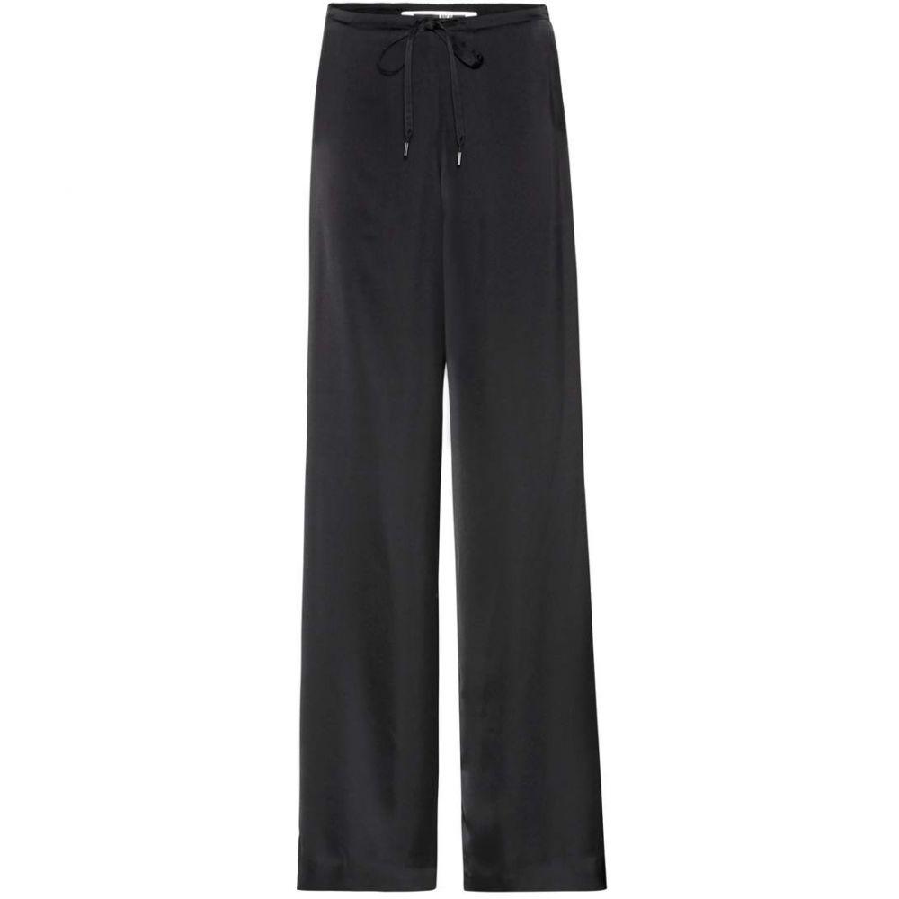 アレキサンダー マックイーン McQ Alexander McQueen レディース ボトムス・パンツ【Satin wide-leg trousers】Black