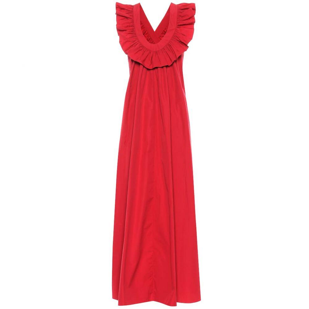 スリーグレイス Three Graces London レディース ワンピース・ドレス ワンピース【Geraldine cotton poplin maxi dress】rasperry