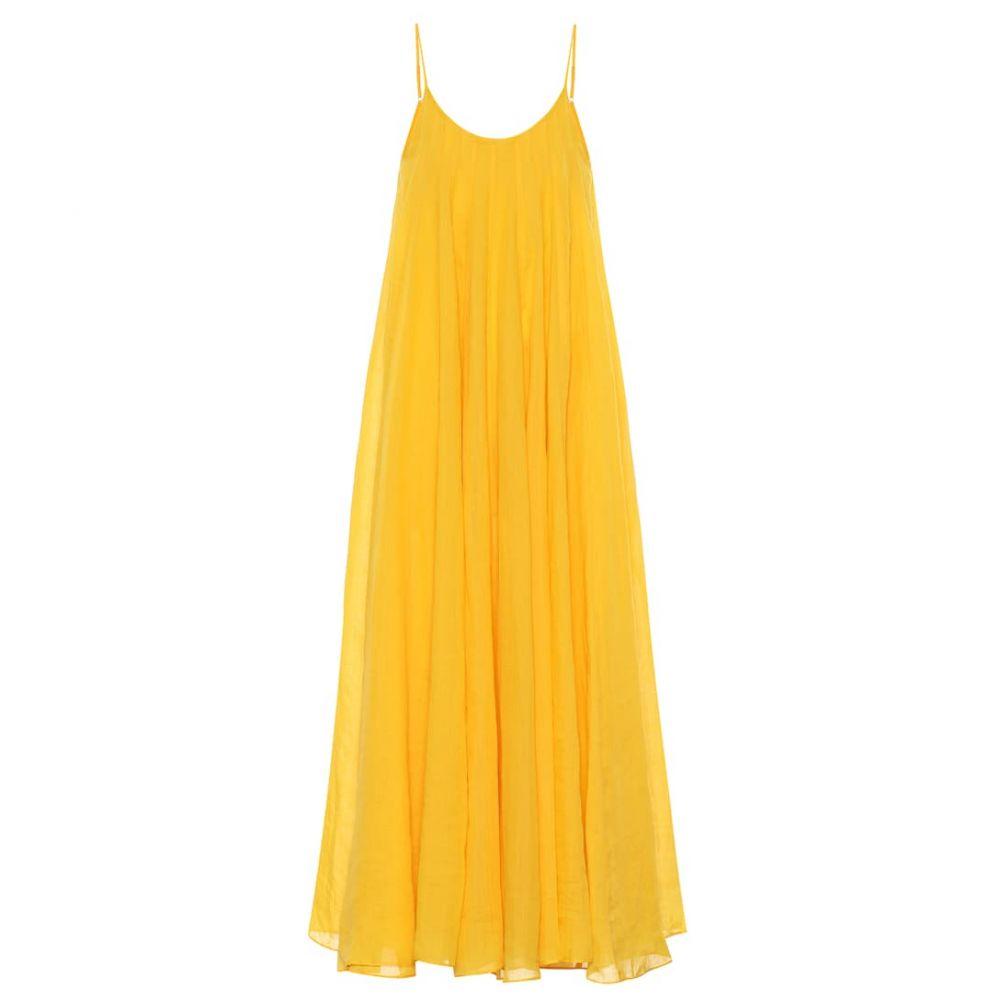 スリーグレイス Three Graces London レディース ワンピース・ドレス ワンピース【Mabelle ramie maxi dress】saffron yellow