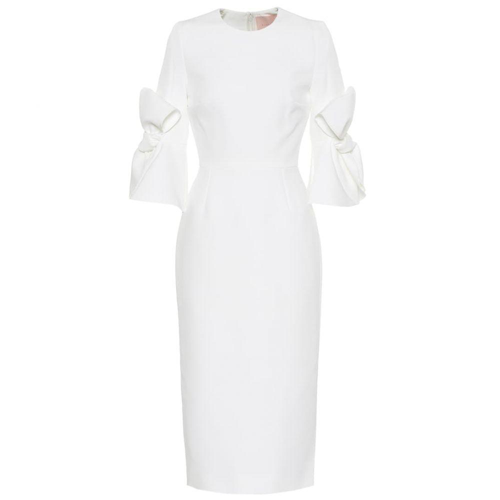 ロクサンダ Roksanda レディース ワンピース・ドレス パーティードレス【Lavete bonded crepe dress】Ivory