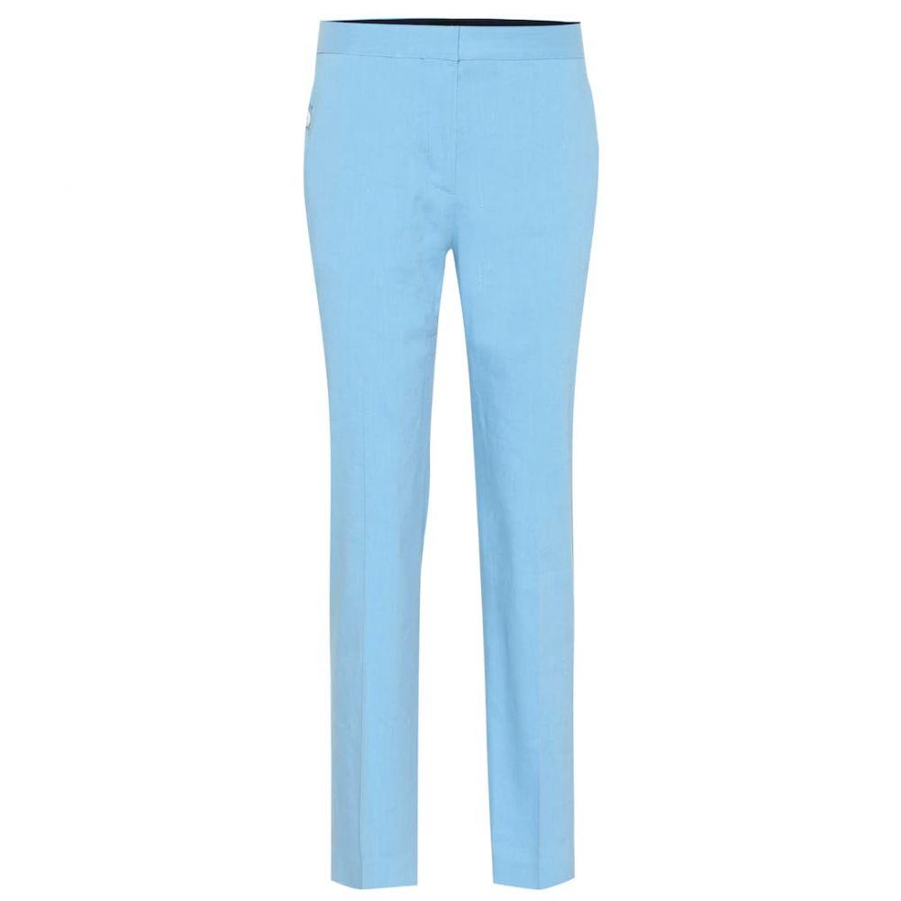 ラグ&ボーン Rag & Bone レディース ボトムス・パンツ【Poppy Tab linen-blend pants】blue