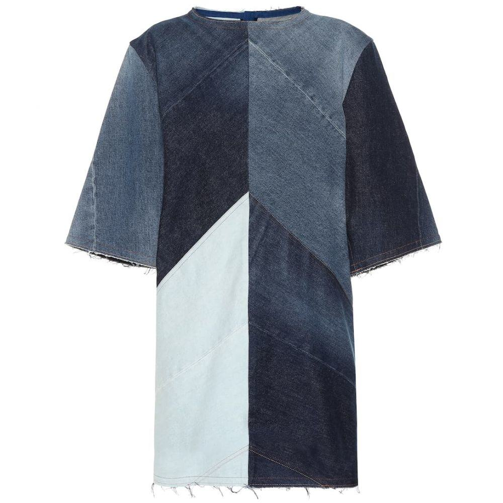 アクネ ストゥディオズ Acne Studios レディース ワンピース・ドレス ワンピース【Patchwork denim dress】indigo