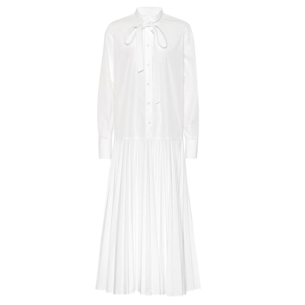 ヴァレンティノ Valentino レディース ワンピース・ドレス ワンピース【Cotton-blend maxi dress】