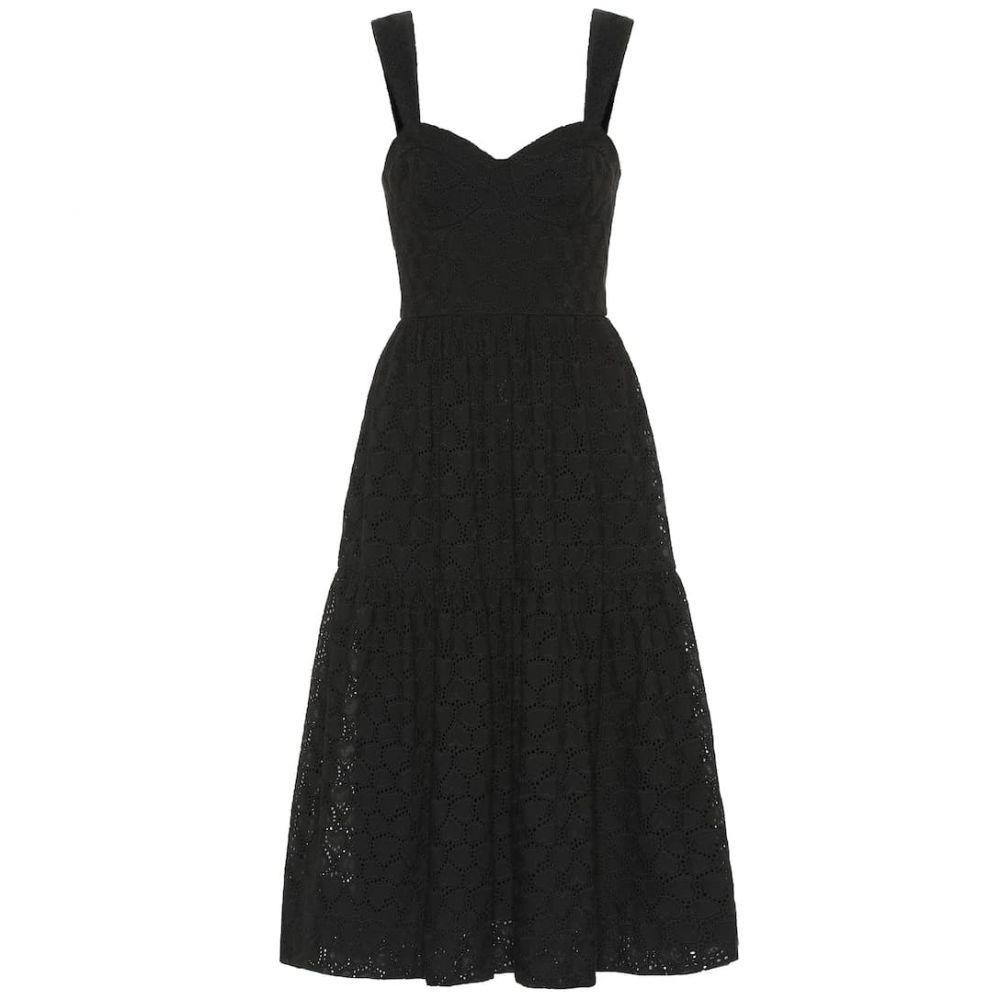 レベッカ ヴァランス Rebecca Vallance レディース ワンピース・ドレス ワンピース【Valentina cotton midi dress】Black