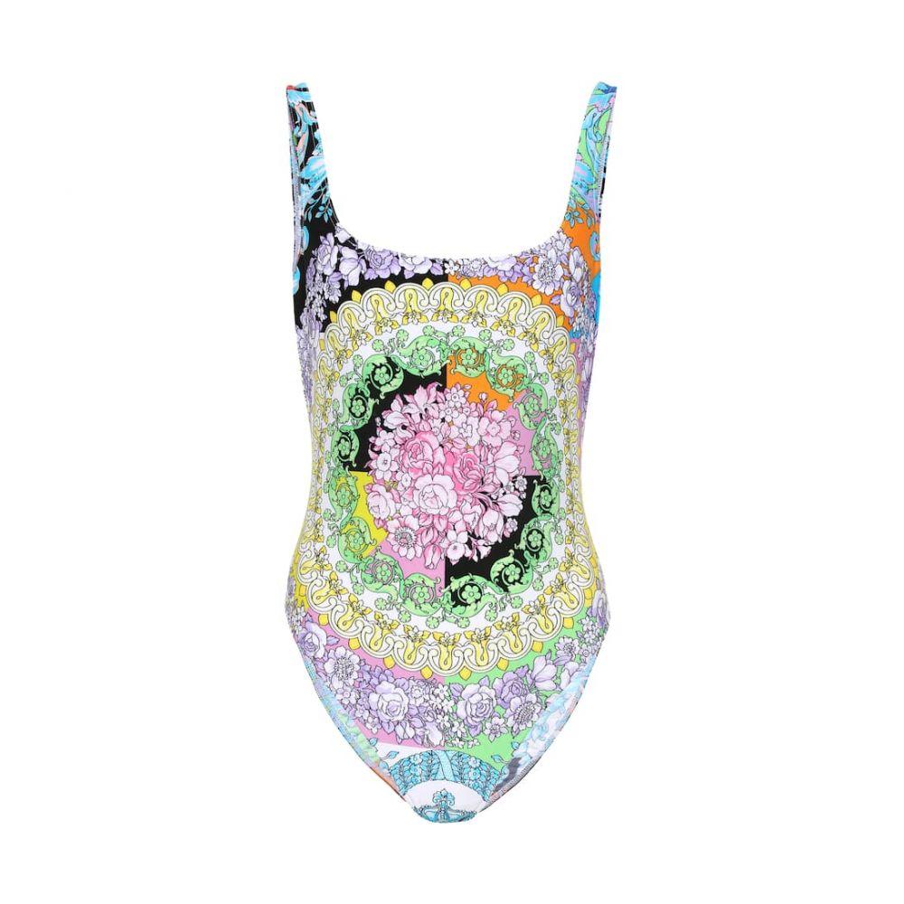 ヴェルサーチ Versace レディース 水着・ビーチウェア ワンピース【Floral-printed swimsuit】Multicolor