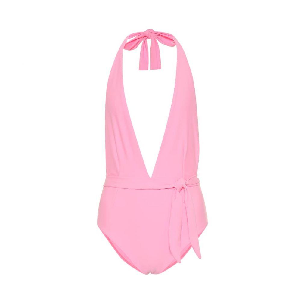 アレクサンドラ ミロ Alexandra Miro レディース 水着・ビーチウェア ワンピース【Eva halter swimsuit】bubble gum pink