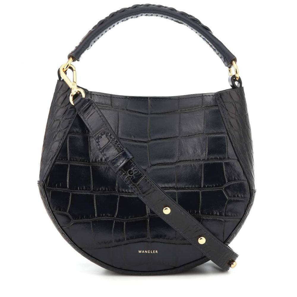 【50%OFF】 ワンダラー Mini Wandler レディース バッグ トートバッグ バッグ【Corsa Mini croc-effect leather leather tote】Night, カラダニキクイモ:0c23688a --- mmfood.in