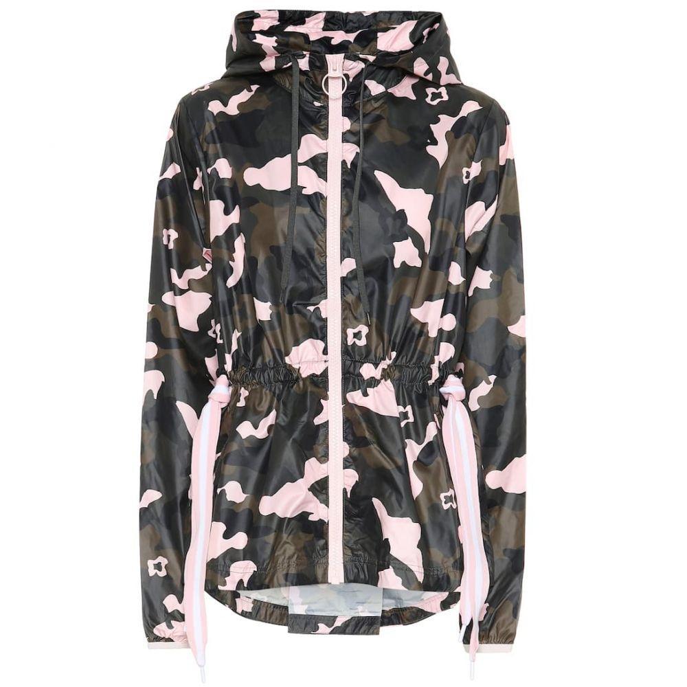 ジアップサイド The Upside レディース アウター ジャージ【Forest Camo Ash track jacket】camo/multi