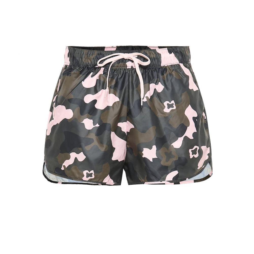 ジアップサイド The Upside レディース ボトムス・パンツ ショートパンツ【Forest Camo Run printed shorts】camo/multi