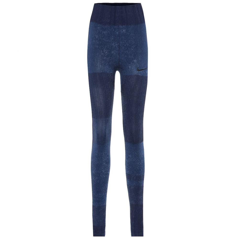 ナイキ Nike レディース インナー・下着 スパッツ・レギンス【Technical leggings】Blackened Blue/Reflective Silv