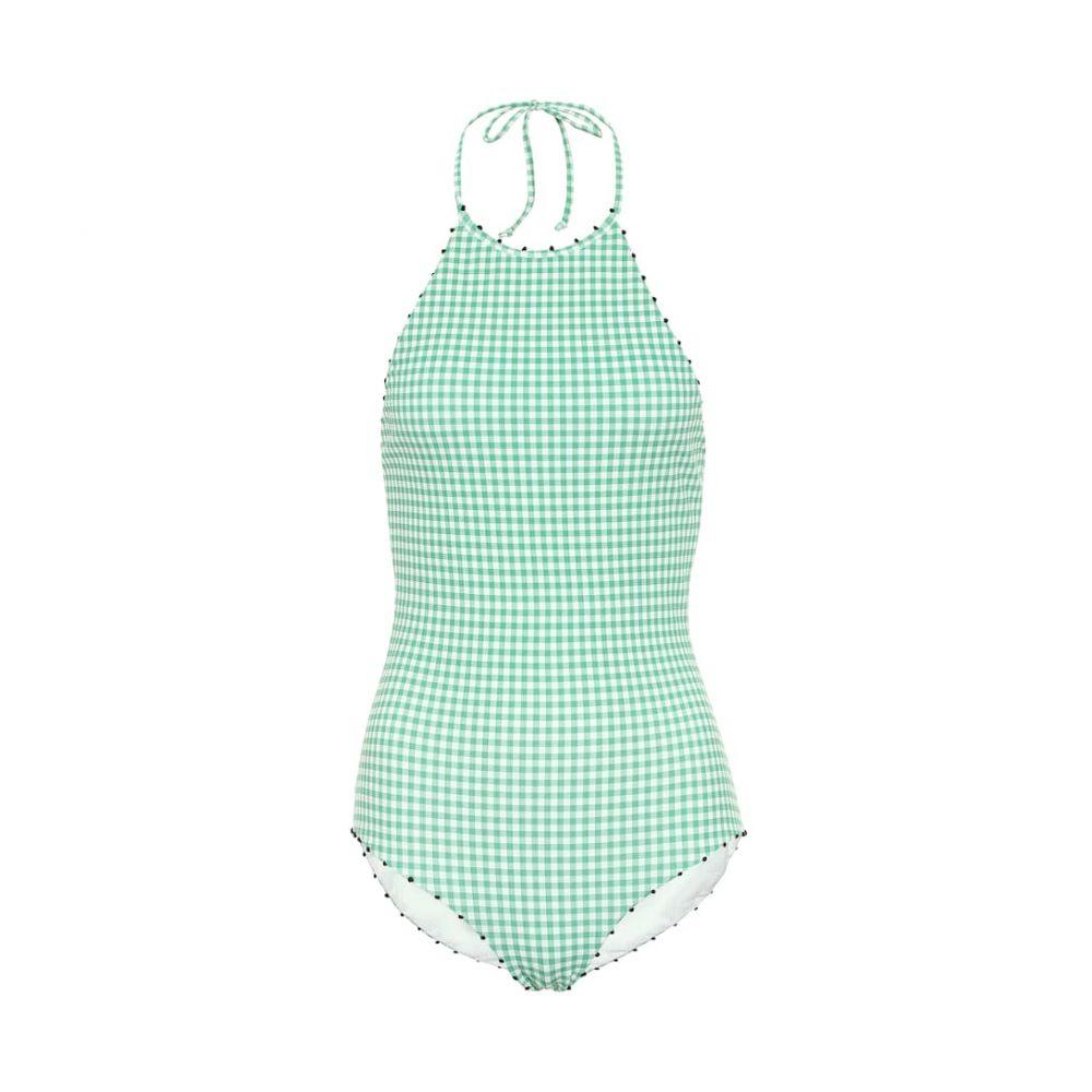 マリシアス Marysia レディース 水着・ビーチウェア ワンピース【French Mott gingham swimsuit】green ging