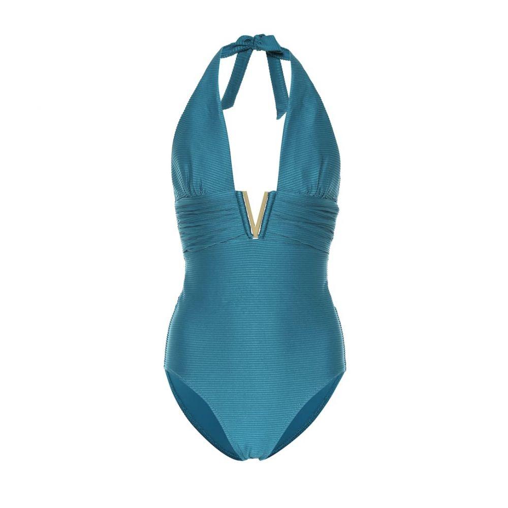 ハイジ クライン Heidi Klein レディース 水着・ビーチウェア ワンピース【V Bar onepiece swimsuit】Teal