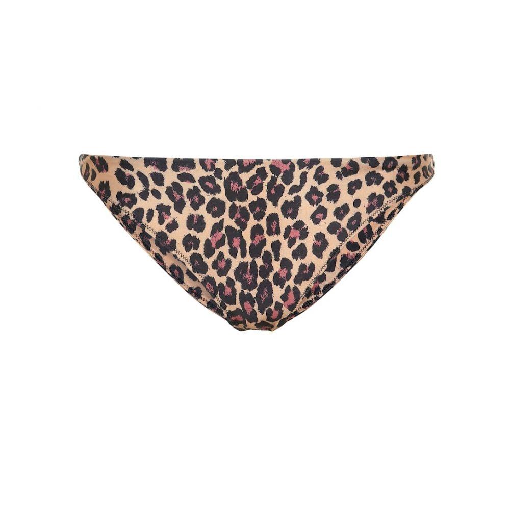ジョナサン シンカイ Jonathan Simkhai レディース 水着・ビーチウェア ボトムのみ【Leopard bikini bottoms】Leopard Print