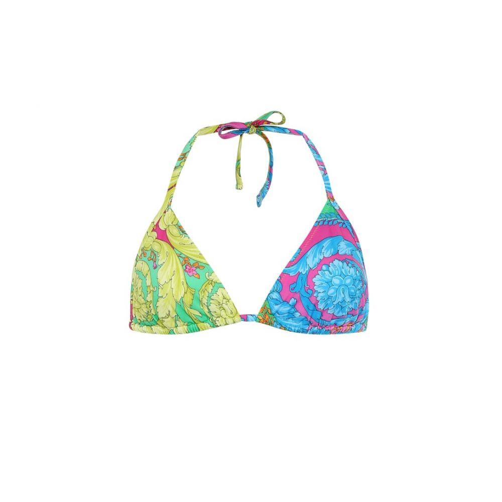 ヴェルサーチ Versace レディース 水着・ビーチウェア トップのみ【Printed bikini top】Multicolor