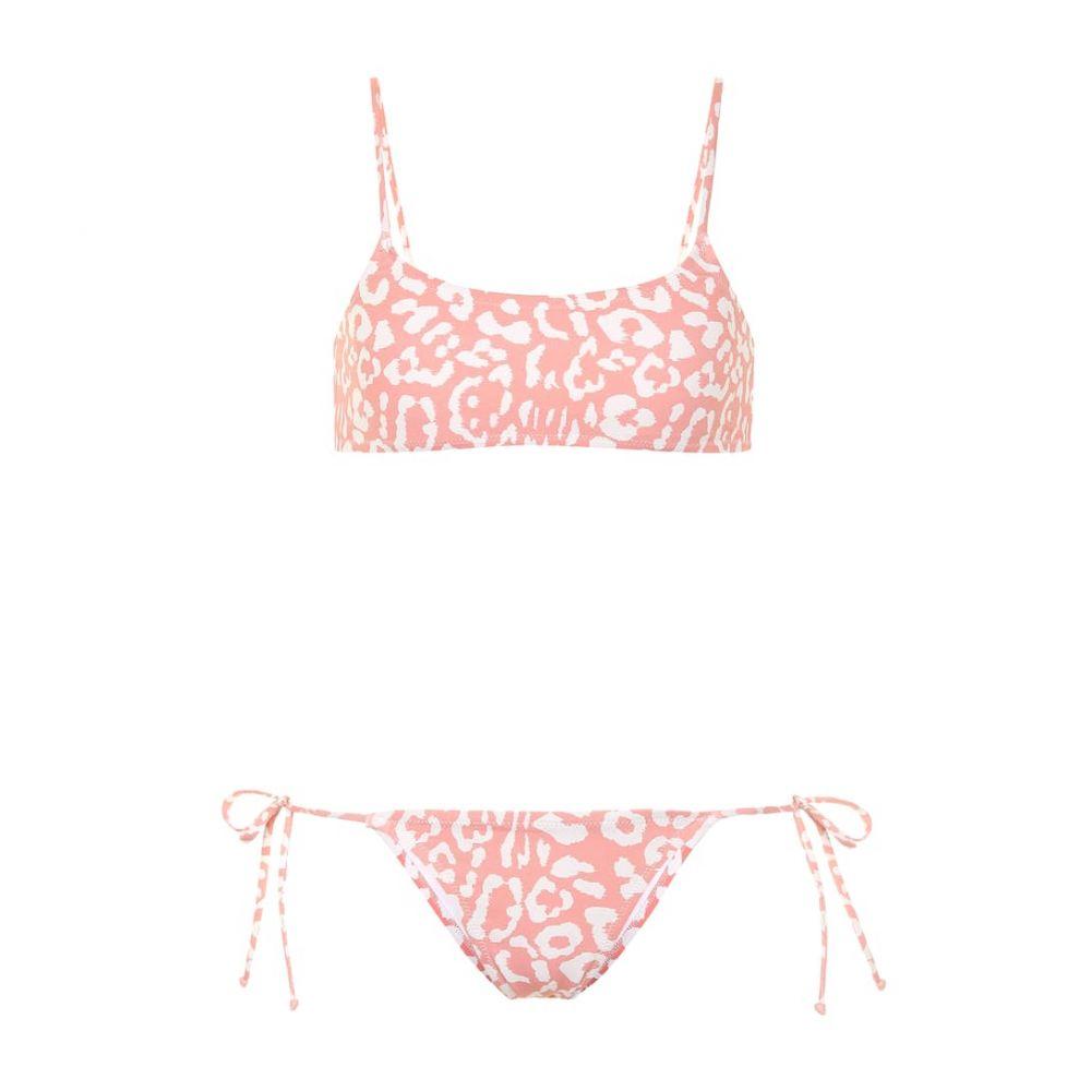 レイナ オルガ Reina Olga レディース 水着・ビーチウェア 上下セット【Stella leopard-print bikini set】coral