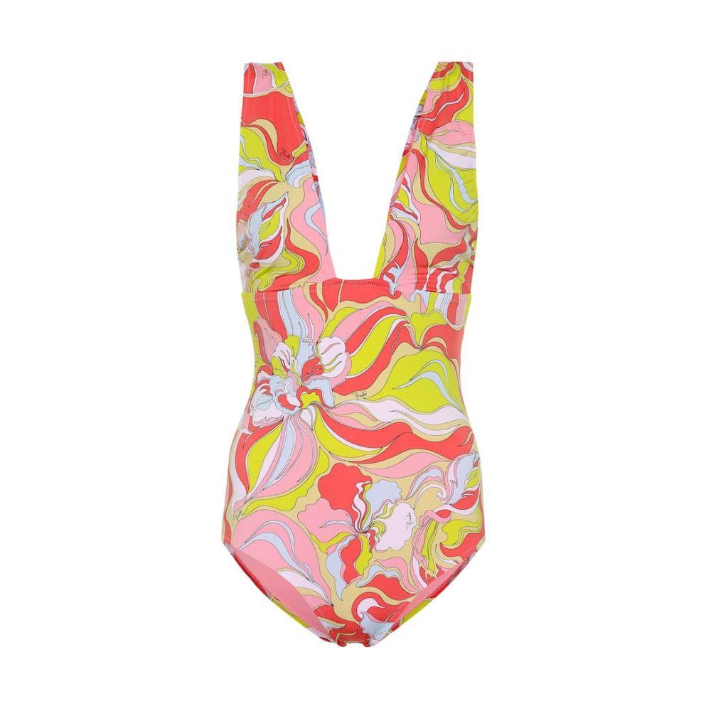 エミリオ プッチ Emilio Pucci Beach レディース 水着・ビーチウェア ワンピース【Printed swimsuit】Rosa/Lime