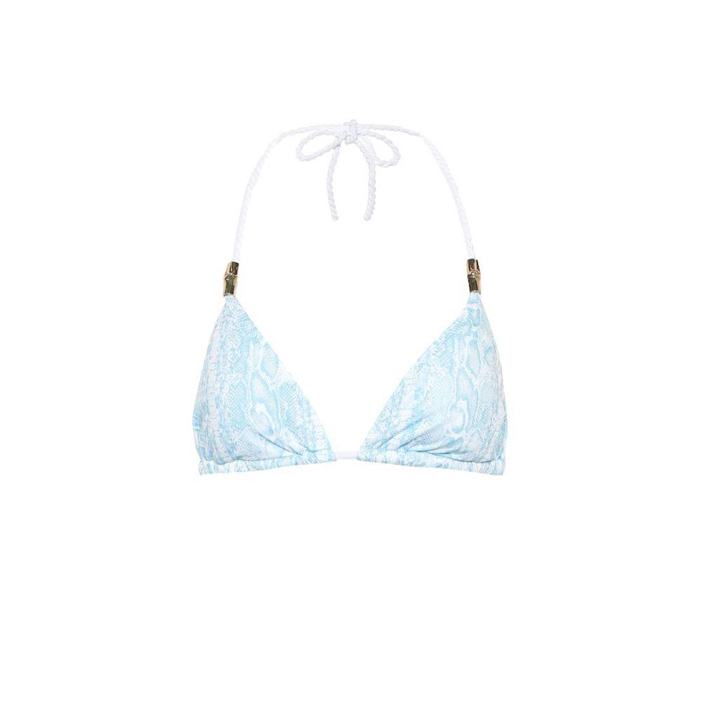 ハイジ クライン Heidi Klein レディース 水着・ビーチウェア トップのみ【Lake Manyara snake-print bikini top】