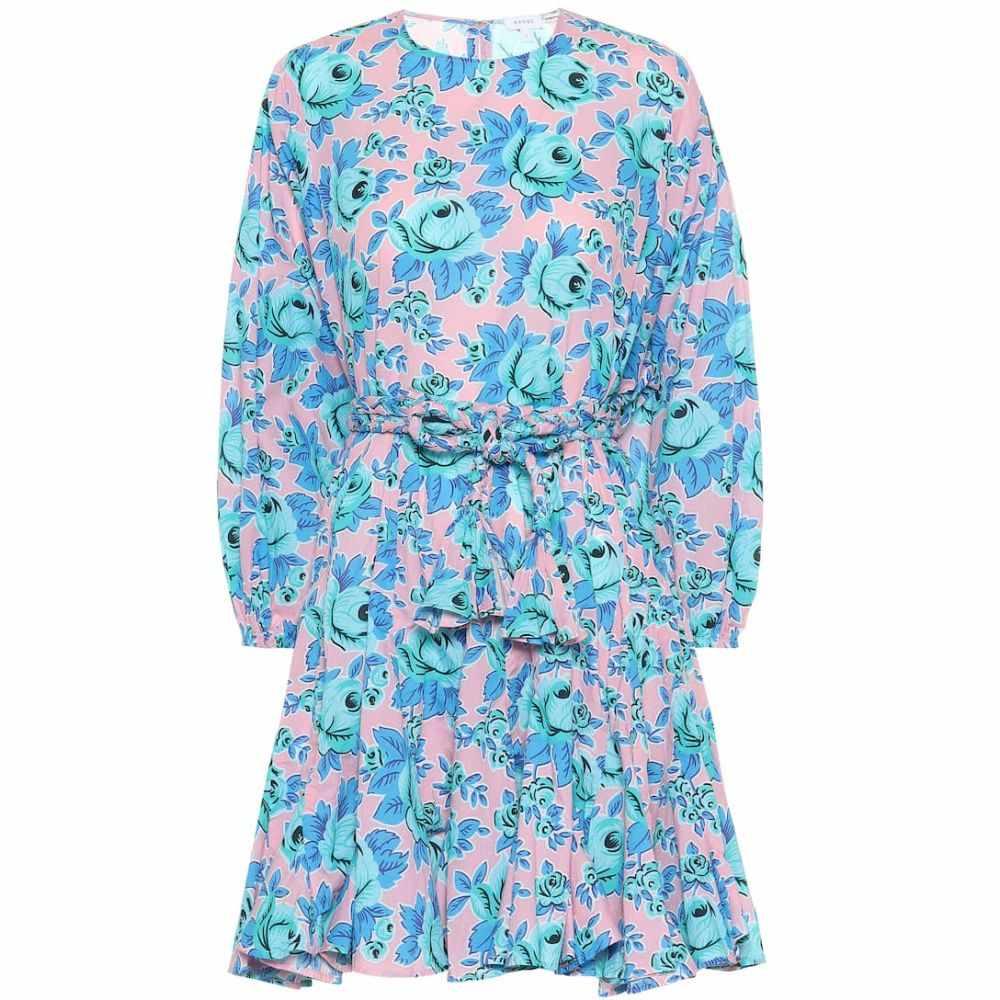 ロードリゾート RHODE レディース ワンピース・ドレス ワンピース【Ella floral cotton minidress】Pop Floral
